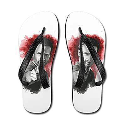 The Walking Dead Rick Adult Sandals Medium