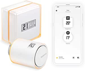 Netatmo Pack Termostato Intelligente + Valvola Intelligente