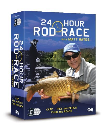 Matt Hayes 24 Hour Rod Race Triple Box Set [DVD] [UK Import]
