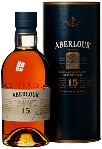 Aberlour Single Malt Whisky 15 Jahre (1 x 0.7 l)