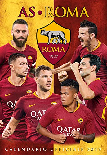 calendario AS ROMA 2019 UFFICIALE - (29x42)