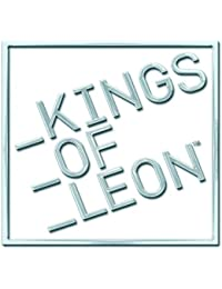 Kings Of Leon bloquean blanco logotipo de la banda de metal pin broche insignia oficial
