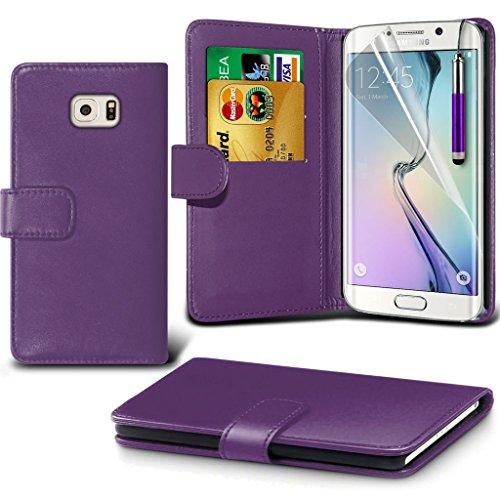 Samsung Galaxy S6 edge+ Étui Housse + cas [galaxie S6 bord Plus] Phone Holder Universal Support de voiture tableau de bord et pare-brise pour iPhone yi -Tronixs Wallet (Green)