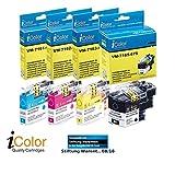 iColor Tintenpatronen: ColorPack für Brother (ersetzt LC-229XL / 225XL), BK/C/M/Y (Drucker Tinte)
