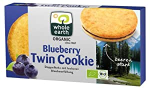 Whole Earth Blueberry Twin-Cookie, 2er Pack (2 x 175 g) - Bio