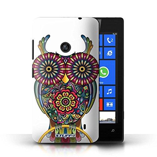Hülle Case für Nokia Lumia 520 / Katze Entwurf / Deko-Tiere Collection Kauz