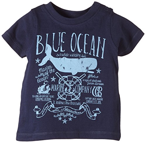 Blue Seven Jungen T-Shirt 92984, (DK BLAU Orig 575), (Herstellergröße: 74)