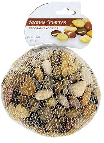 Stilvoll Steine Drinnen und Draußen Dekorativ Akzente Rocks. Lässt Sich hervorragend mit Pflanzen und Fische Tank Aquarien 32oz (Buffet-tisch Zum Verkauf)