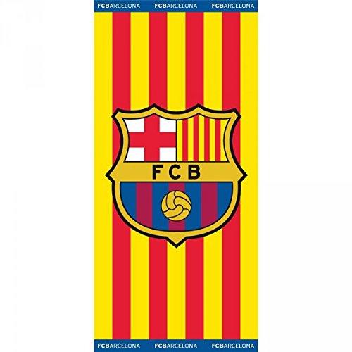 TOALLA DEL BARÇA FC Barcelona FCB PISCINA O PLAYA 150 X75 CM SENYERA
