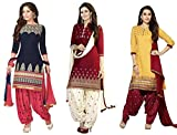 Super Deal Women's Printed Unstitched Re...