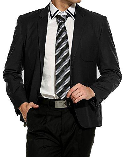 COOFANDY Anzugsjacke Herren zwei Knöpfe Sakkos slim fit Stilvolle Elegant Hochzeit Business Festliche Herrenmode