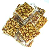 #6: Emazing Gourmet - Special Export Quality PEANUT Chikki - 400 grams.High Content Of Dry Fruits - Low Sugar - Our Very own DESI - Energy Bar !