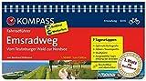Emsradweg, Vom Teutoburger Wald zur Nordsee: Fahrradführer mit Routenkarten im optimalen Maßstab. (KOMPASS-Fahrradführer, Band 6030)
