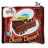 3x Balconi choko dessert Schoko Torta Schokolade creme 400g kuchen cake