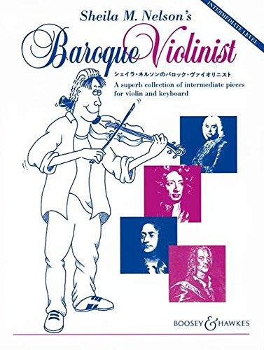 Baroque Violinist Vln/Pf