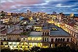 Posterlounge Cuadro de Aluminio 180 x 120 cm: View Over Havana de Lee Frost/Robert Harding