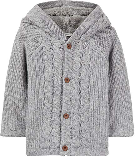 Name It Veste Tricot BÉBÉ NENO - 74, Grey Melange