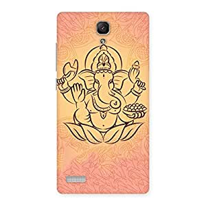 Impressive Jai Ganesha Print Back Case Cover for Redmi Note 4