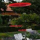 Cazador del Sol 3 Sonnenfänger 15cm Durchmesser schwebend Rot