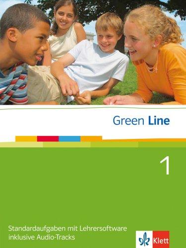 Klett Green Line - Ausgabe Gymnasium. Standardaufgaben 1 mit Lehrersoftware inclusive Audio-Tracks