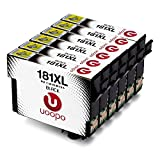 Uoopo Replacement for Epson 18XL Ink Cartridges 6-pack Black Compatible with Epson XP-205 XP-215 XP-225 XP-305 XP-302 XP-405 XP-202 XP-422 XP-402 XP-322 XP-102 XP-312 XP-412 XP-415 XP-325 XP-315 XP-212