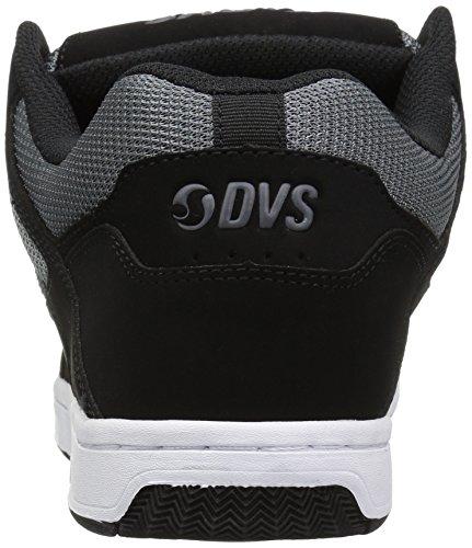 DVS Apparel Enduro 125, Scarpe da Skateboard Uomo Noir (Black Charcoal Nubuck)