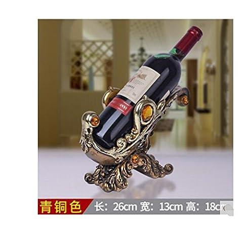 ornements casier à vin, les décorations et les plus frais de création du vin européen, l'artisanat étagère à vin de cheval