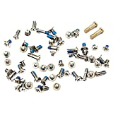 BisLinks Sostituzione Full Screws Set Per iPhone 6 - Argento/Bianca Screw Gold Bottom Pentalobe Screws