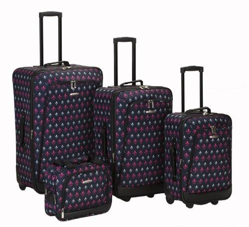 Rockland, Unisex-Erwachsene Gepäck-Set, Blackicon (mehrfarbig) - F109-BLACKICON