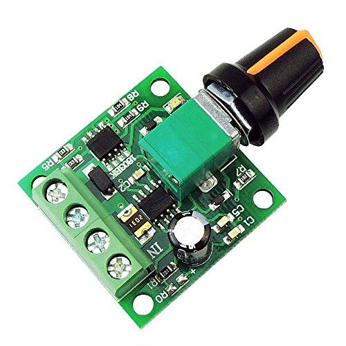 SODIAL Regulador de velocidad del motor de 1.8V 3V 5V 6V 7.2V...