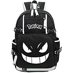 Cuero de la vaca Piel Cartera Multi-bolsillos Monedero Cartera fina hombre Anime Purse Pokemon Go Bag Pikachu Mochila Historietas ahora