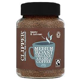 Clipper Medium Roast Organic Arabica Coffee, 200 g