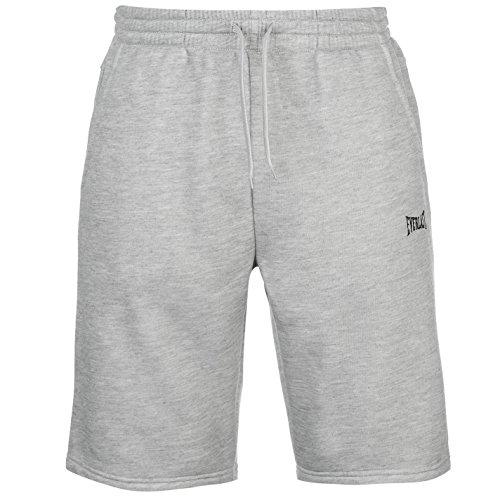 everlast-mens-fleece-shorts-trousers-pants-bottoms-elasticated-waist-drawstring-grey-m