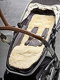 Kinderwagen Einlage aus echtem Lammfell