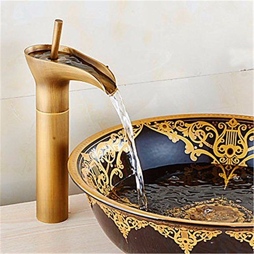 YFF@ILU Casa Deco Rame antico bacino bagno