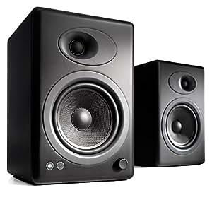 Audioengine A5+ Powered Multimedia Speakers Pair in Satin Black
