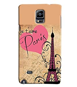 Expert Deal Best Quality 3D Printed Hard Designer Back Cover For Samsung Galaxy Note 4 Edge