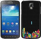 TETRIS schwarz für Samsung Galaxy S4Active Handy Fall