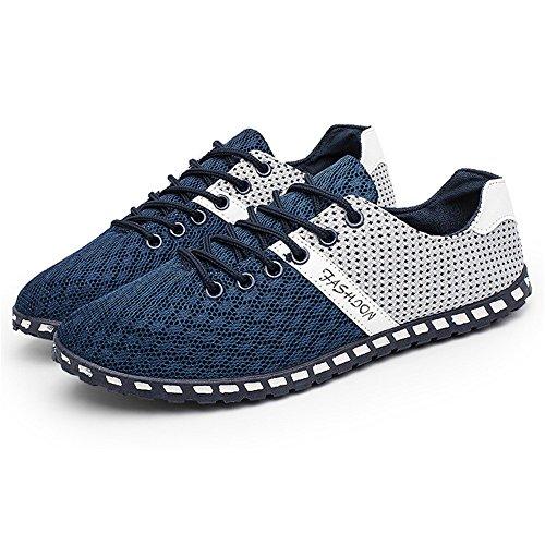 CUSTOME Hommes Chaussures D'eau Engrener Appartement Combinaison Doux Respirant de Plein air Poids Léger Décontractée Exercice Chaussures