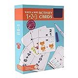 Lernkarten Kinder Schreiben Abwischen Kognitiven Frühen Pädagogischen Karten Lernspielzeug für Babys Kleinkinder Vorschule(Mathematics)