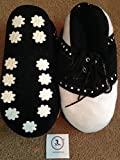 Pair of JL golf novelty slippers. xmas fathers day size 7-9 gift present medium