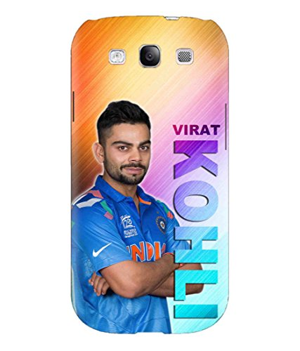 Print Vale Indian Captain Virat Kohli Kohlism Style Icon Designer Printed Polycarbonate Matte Finish Hard Back Case Cover for Samsung Galaxy S3 Neo