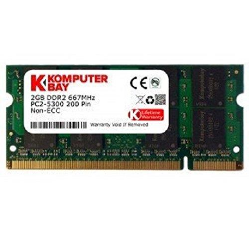 Komputerbay SODIMM Speichermodul (2GB; 200 Pin; 667MHz; PC2 5400/PC2 5300 DDR2) -