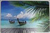 Schreibtischunterlage Karibik
