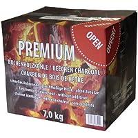 Premium Buchenholzkohle Krt. 7kg - Grillkohle, Holzkohle für jeden Grill und jedes Grillgut