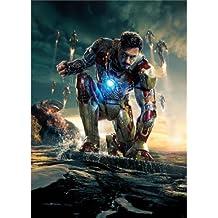 Iron Man 3 Poster On Silk <60cm x 84cm, 24inch x 33inch> - Cartel de Seda - 820A13