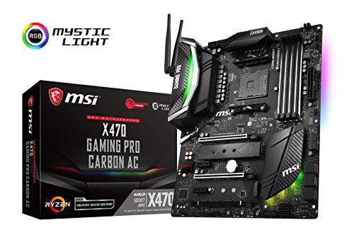 MSI 7b78 – 001R Motherboard X470 Gaming Pro Carbon