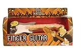 Finger Guitar Finger Drums Mini-Schlagzeug Finger-Trommler Tom Toms Basstrommel Snare Drum und Becken Sound und Licht Gifts Gadgets Spiel *NEU*OVP*