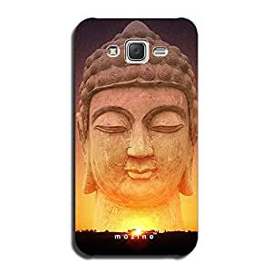 Mozine Rising Buddha printed mobile back cover for Samsung galaxy on5