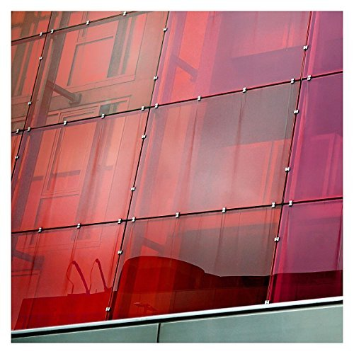 BdF Card Window Film Transparent Farbe Rot 36
